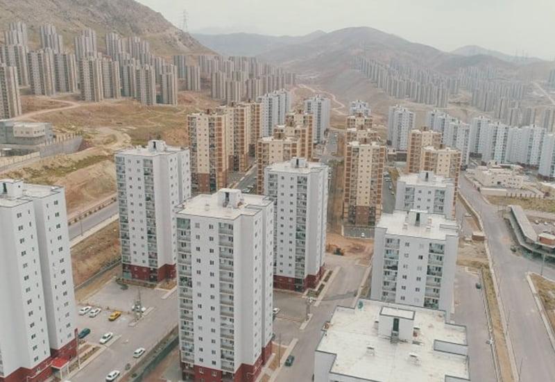 آغاز ساخت و ساز در تهران