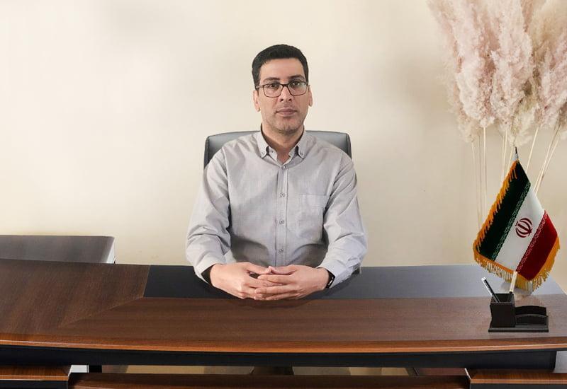 آقاي عرب عامري مدير كنترل پروژه اتحاديه تعاوني هاي عمراني شهر تهران