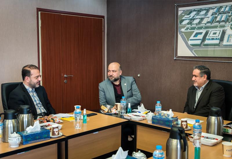 همکاری اتحادیه تعاونی های عمرانی شهر تهران با شهر آفتاب کلید خورد