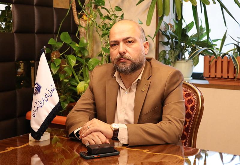 دکتر خشایار باقرپور مدیرعامل اتحادیه تعاونی های عمرانی شهر تهران
